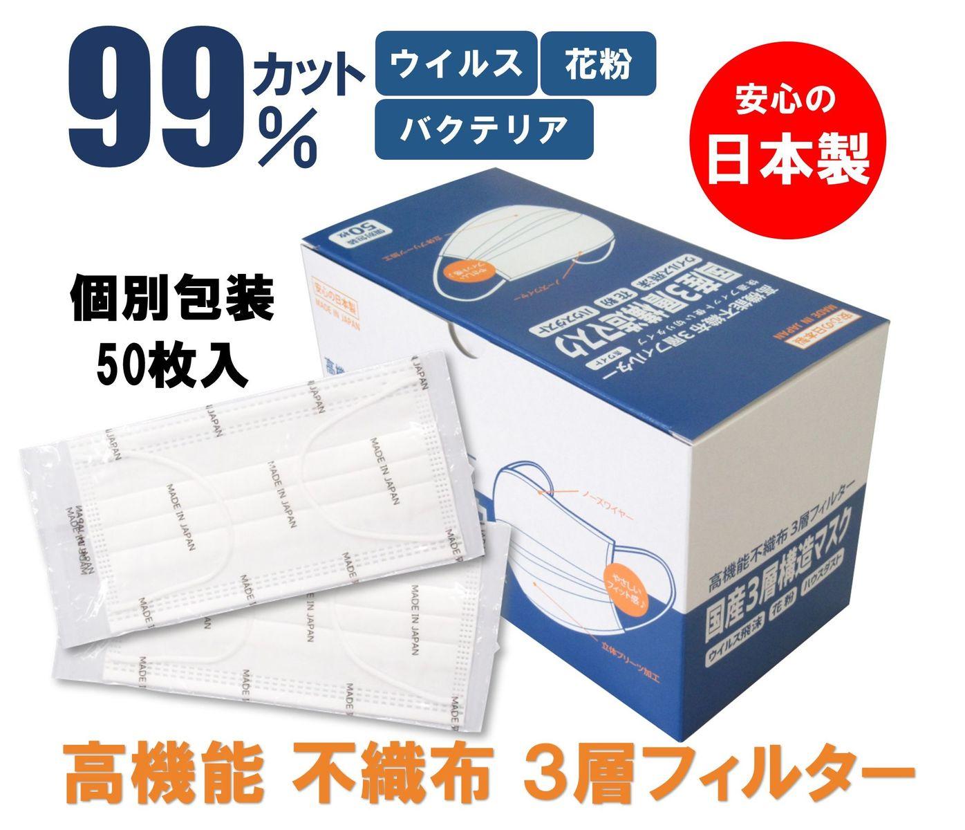 マスク 製 サージカル 日本