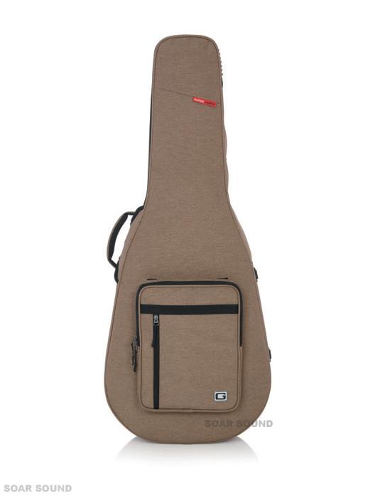 GATOR アコースティックギター用ケース セミハードケース プロテクトケース バッグ GTR-BASS-GRY アコギ用