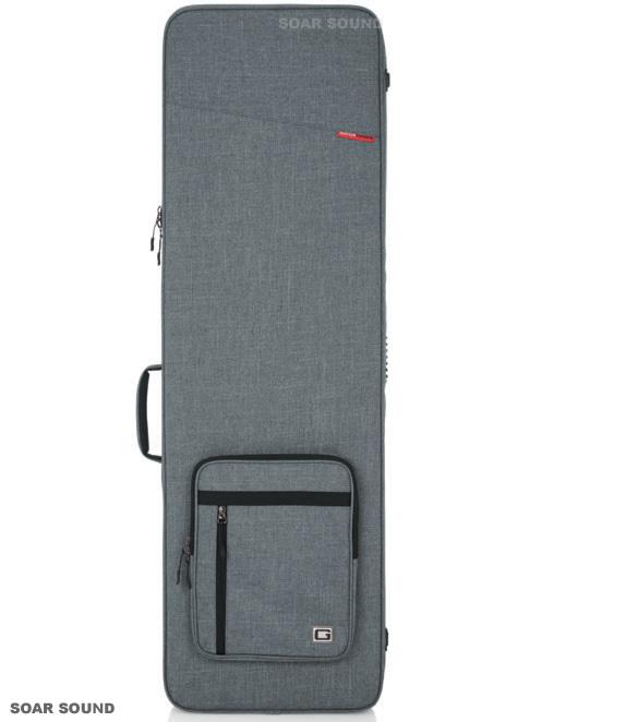 GATOR エレキベースケース セミハードケース プロテクトケース バッグ GTR-BASS-GRY ベース用 グレー