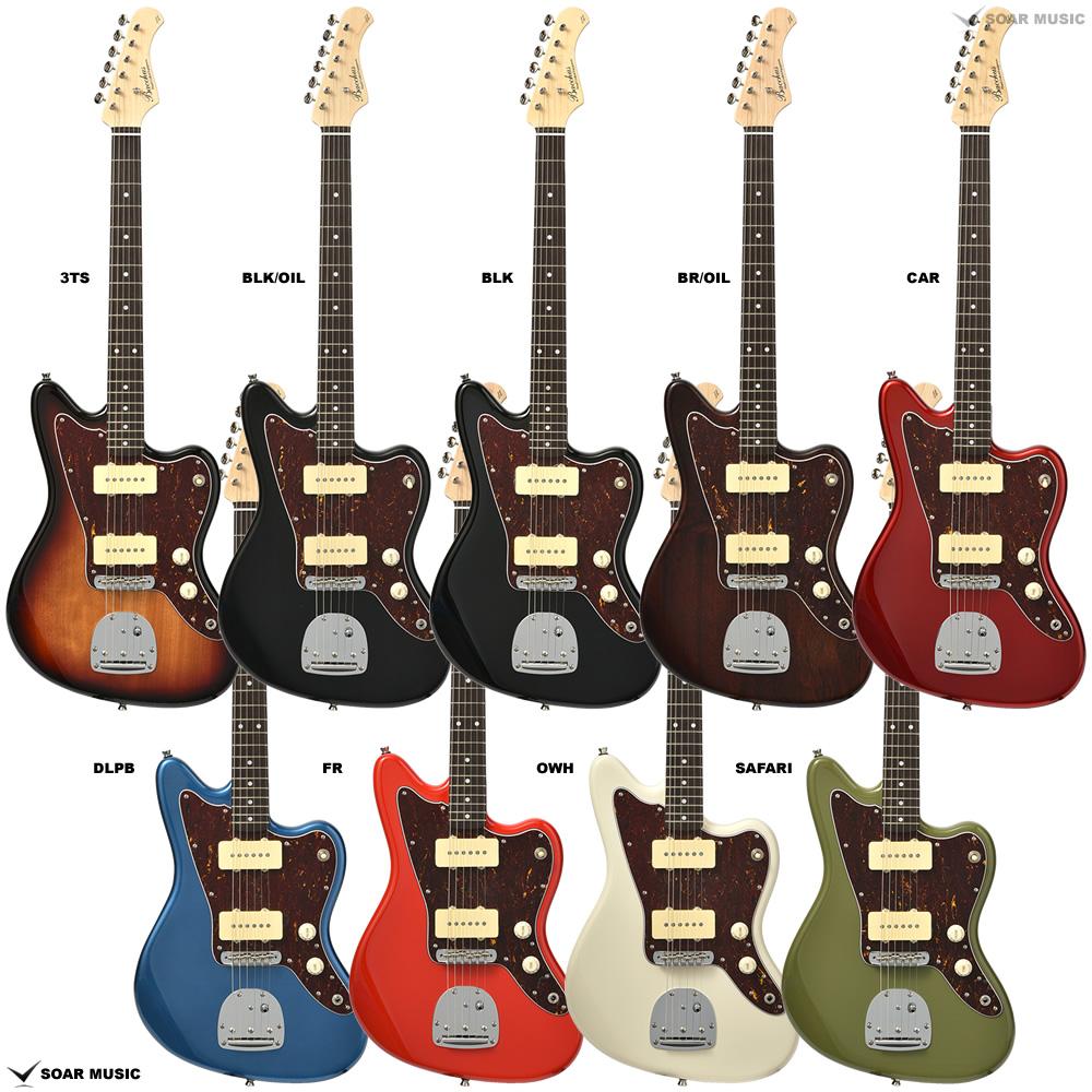 Bacchus バッカス BJM-70B エレキギター ジャズマスター タイプ ギター グローバルシリーズ