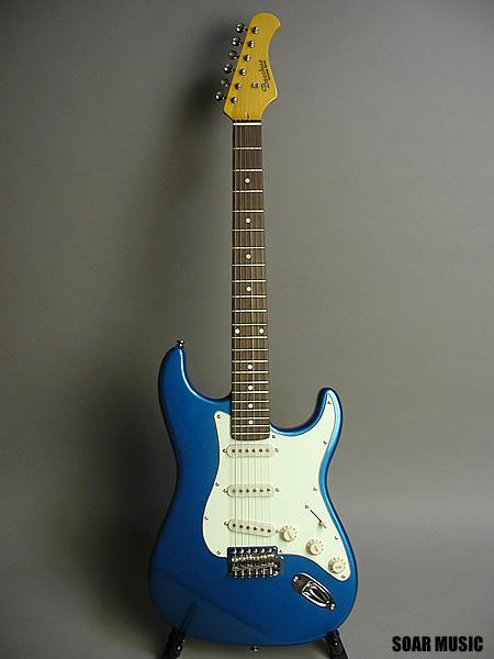 【アウトレット】 Bacchus バッカス ストラトタイプ エレキギター BST-350 LPB レイクプラシッドブルー