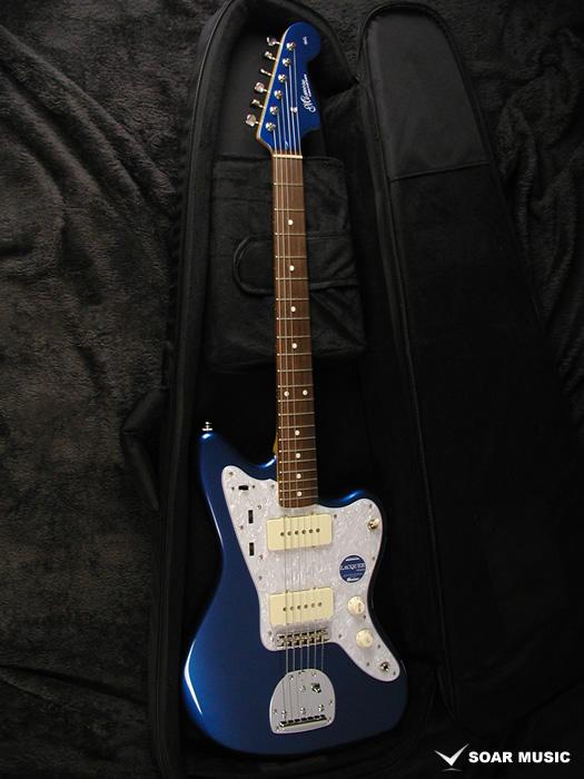 【アウトレット特価】Momose モモセ ジャズマスタータイプ エレキギター MJM1-STD/NJ LPB-MH 日本製 国産 ハンドメイド レイクプラシッドブルー
