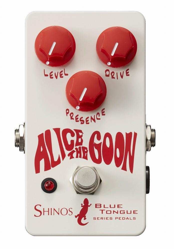 SHINOS シノーズアンプ ギターエフェクター SHI-BUL/ALI ブリティッシュ系 オーバードライブ コンパクトエフェクター