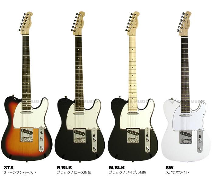 【安心の初期調整済・送料無料!】 Bacchus(バッカス) BTE-1 テレキャスタータイプ エレキギター