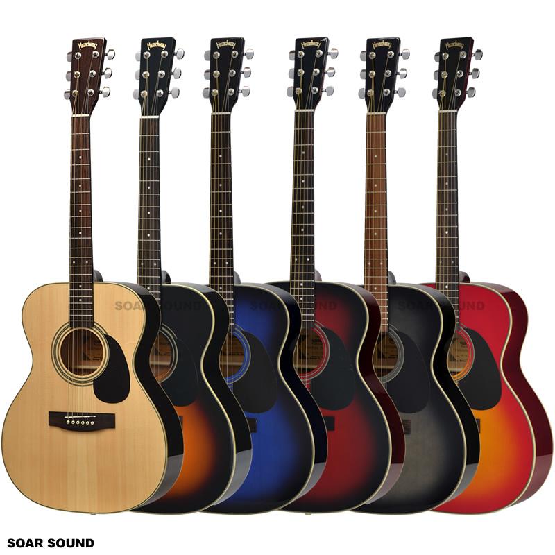 アコースティックギター Headway HF-25 ヘッドウェイ アコギ フォークギター 初心者の入門用・経験者のサブ機としても OMサイズのスリムめボディ、女性にもおすすめ