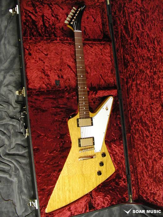 【予約受付】【選べるピックガードカラー】エクスプローラーモデル MEX・K-STD/NJ NA (MOMOSE / モモセ) エレキギター コリーナボディ