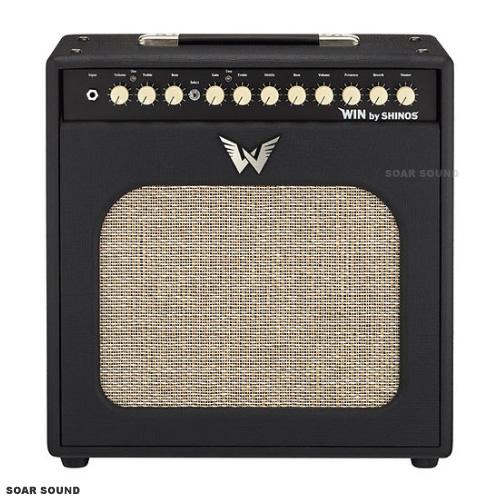 SHINOS シノーズアンプ 50W SHI-WIN50 ギターアンプ コンボギターアンプ BLK ブラック