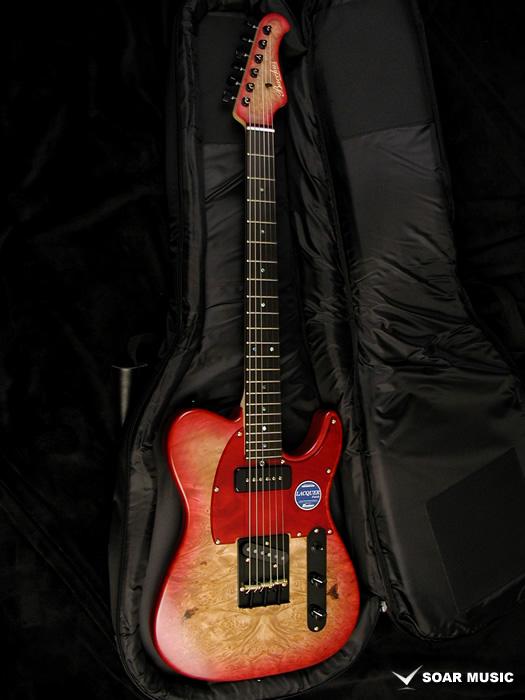 Bacchus バッカス 国産 ハンドメイド ギター テレキャスタータイプ T-MASTER EWC/BM RED-BS エレキギター 日本製 限定モデル