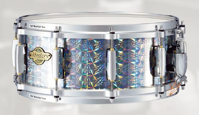 【受注製作】Pearl / パール スネアドラム D-FLAVOR MCX1455S/C ホログラムフィルム装着バージョン