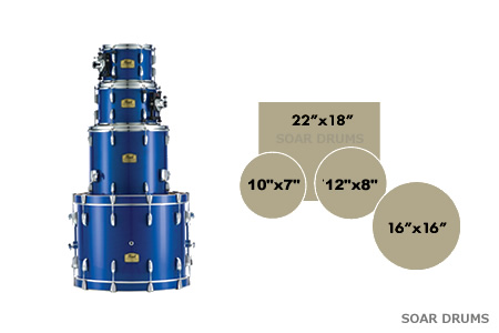 Masters Maple Reerve MRS ドラムセット 4点セットPearl(パール) SHELL PACK シェルパック MRS924BEDP/C