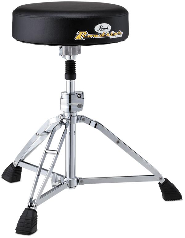 Pearl パール ドラムスローン Drum Thrones ドラム用 イス D-1000SPN スクリュータイプ ラウンドシートタイプ 丸型