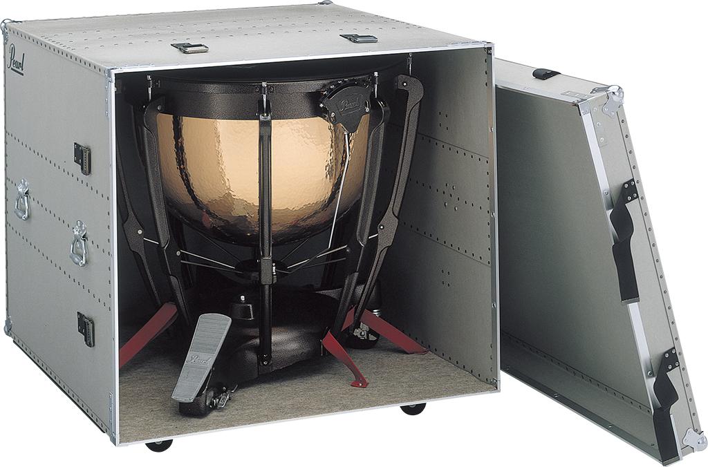 【受注製作】 Pearl パール ティンパニー用 ファイバーケース TYF-2932 ティンパニ用 L/LL用(H890 x W1,020 x D1,090mm)