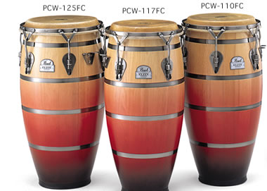 Folkloric Elite Congas フォークロリック・エリート・コンガ PCW-117FC(CONGA 11 3/4