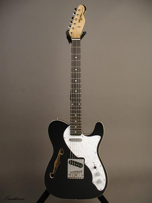 Monogram / モノグラム MGT-TH-S BLK エレキギター テレキャスター シンライン ブラック