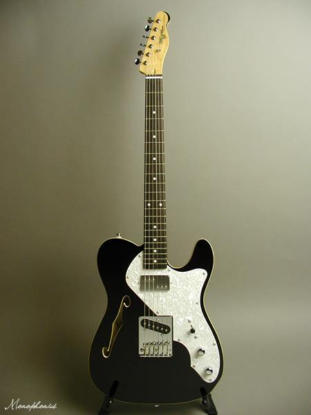 Monogram / モノグラム MGT-TH BLK エレキギター テレキャスター シンライン ハムバッカー ブラック