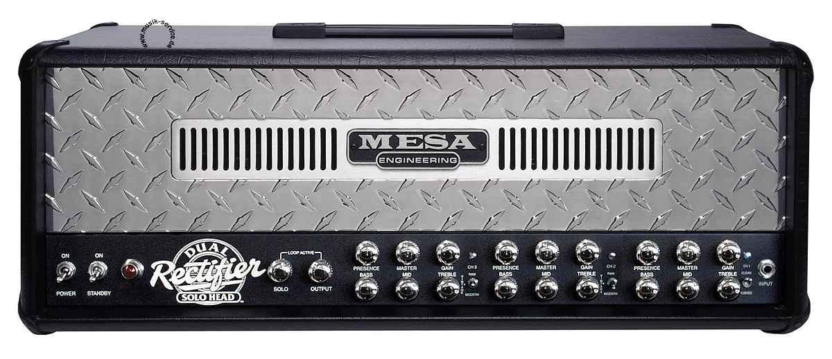 【店頭展示品・処分特価】【在庫限り・即納OK!】Dual Rectifier Head レクチファイア メサブギー / MESA BOOGIE ギターヘッドアンプ 50/100W ギターアンプ