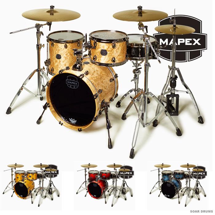 MAPEX ドラムセット SATURN V シェルキット CLUB CLASSIC (SV481X) メイペックス