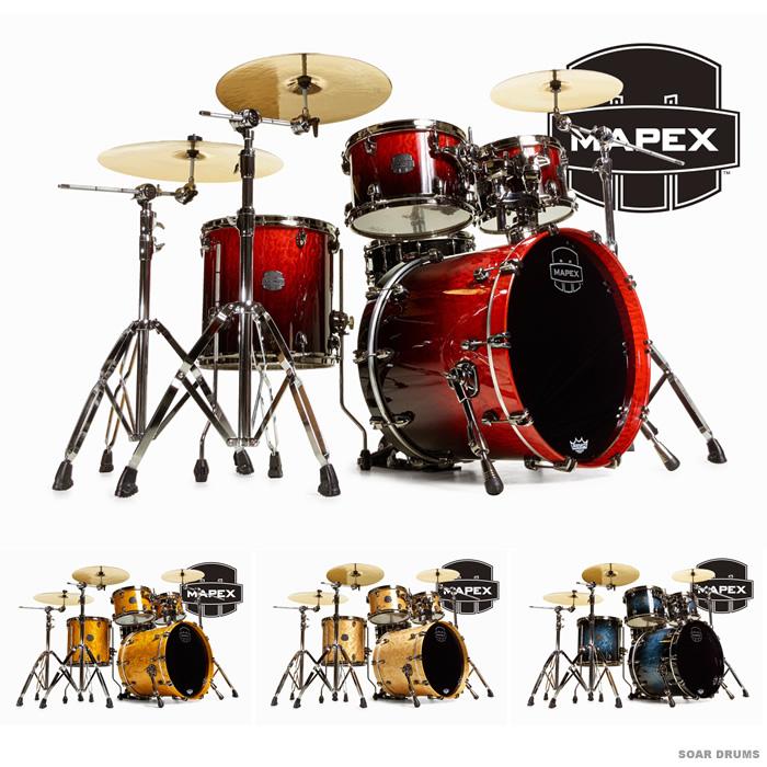 MAPEX ドラムセット SATURN V シェルキット CLUB FUSION (SV504X) メイペックス
