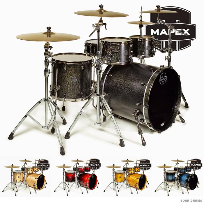 MAPEX ドラムセット SATURN V シェルキット SUB WAVE (SV529XE) メイペックス