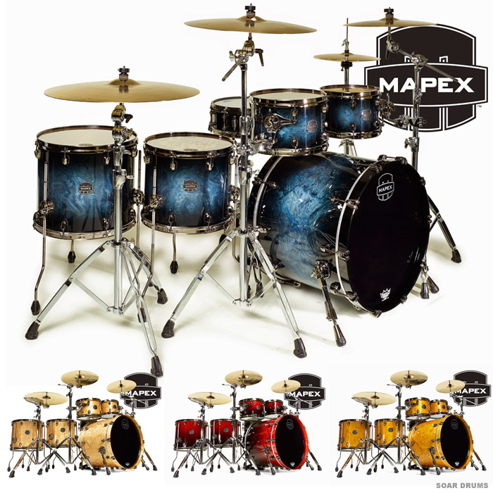 最前線の MAPEX ドラムセット SATURN V シェルキット (SV628XU) SOUND シェルキット WAVE V TWIN (SV628XU) メイペックス, 神戸クリスマスギャラリー:66f978ee --- wap.pingado.com