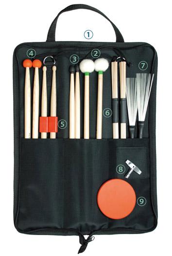 ドラム・パーカッション トレーニング セット DTR-SET Play Wood / プレイウッド