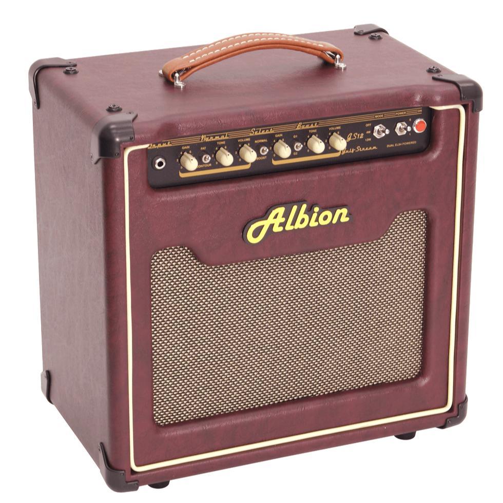 【送料無料・特価!】 Albion GS-series チューブ コンボアンプ 4W/12W ギターアンプ GS-12C
