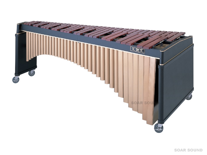 K.M.K マリンバ KK-M5000 C16-C76(5オクターブ) 木琴 キャスター付き ホンジュラスローズウッド KMK