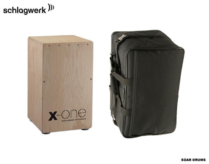 カホン+ケースのセット! Schlagwerk シュラグベルク X-ONE SR-CP104 BLACK / SR-CP105 RED