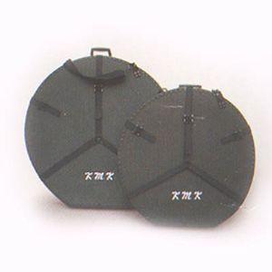 K.M.K KGC-44/ 44インチ銅鑼(ドラ)用ハードケース ファイバー製、ストラップ付 KMK