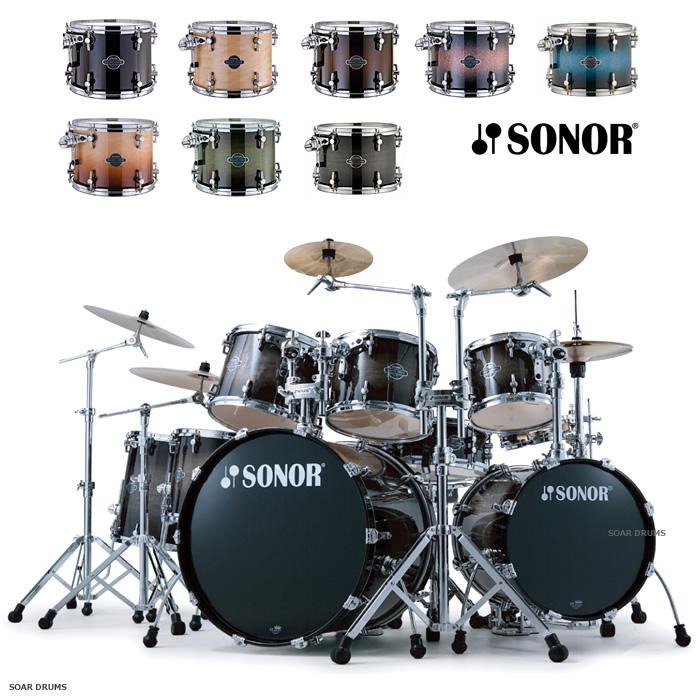 ドラムセット SONOR ソナー セレクトフォースシリーズ 2バスカスタム