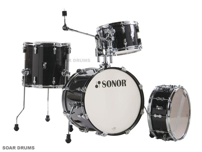 SONOR ソナー ドラムセット バップ ラッカーフィニッシュ SN-AQ2BOP 18インチバスドラムバージョン