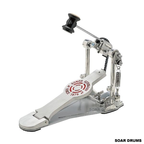 SONOR ソナードラムペダル キックペダル シングルペダル SN-SP2000 ケース付き