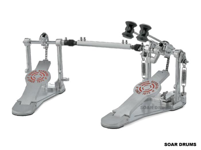SONOR ケース付き ダブルペダル ソナー ソナー ツインペダル 2000シリーズ ダブルペダル シングルチェーン ケース付き SN-DP2000, スキーショップ アミューズ:9f1eb43f --- jpworks.be