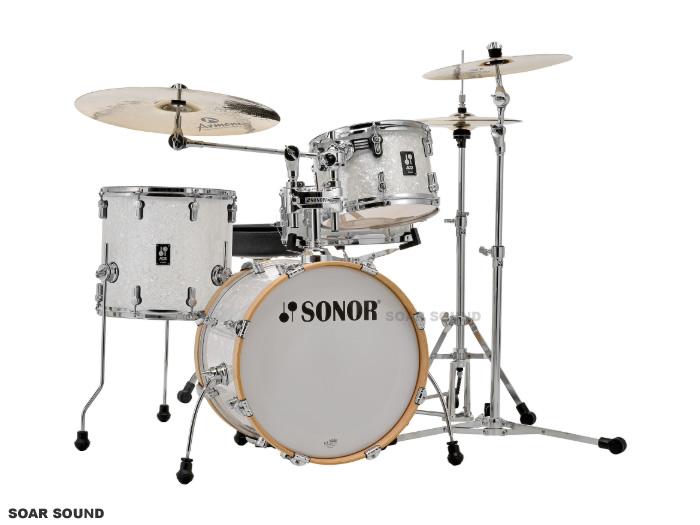 SONOR ソナー ドラムセット バップ SN-AQ2BOP 18インチバスドラムバージョン カバリング
