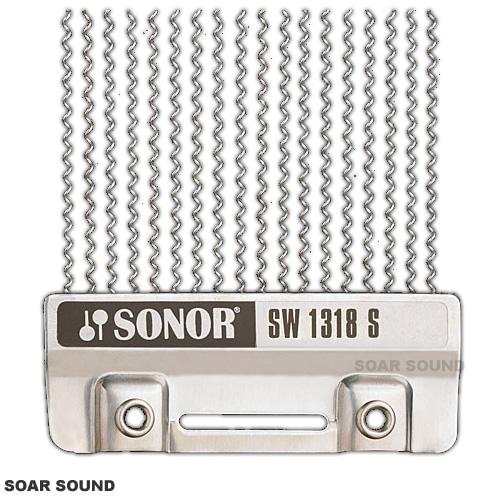 SONOR ソナー スネアドラム用スナッピー 18本仕様 13インチ対応 SW1318S ステンレススティール 0.5mm径 13