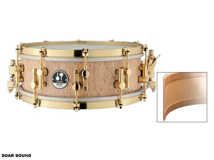 SONOR ソナー スネアドラム スカンジナビアン・バーチ 14x5インチ アート・デザイン AS12-1405MB 小太鼓 コンサートスネアドラム
