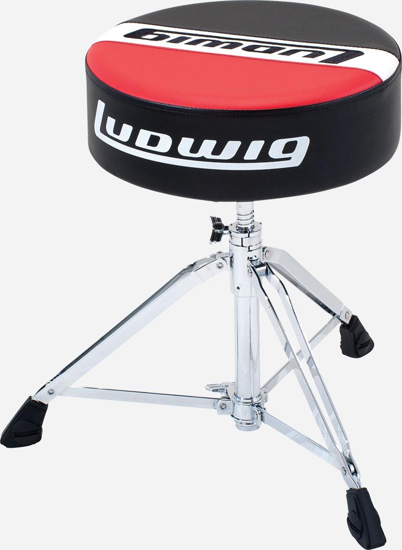 Ludwig ラディック ドラムスローン ラウンドシート タイプ ドラム用 イス LAP51TH アトラスプロシリーズ 丸型 シート