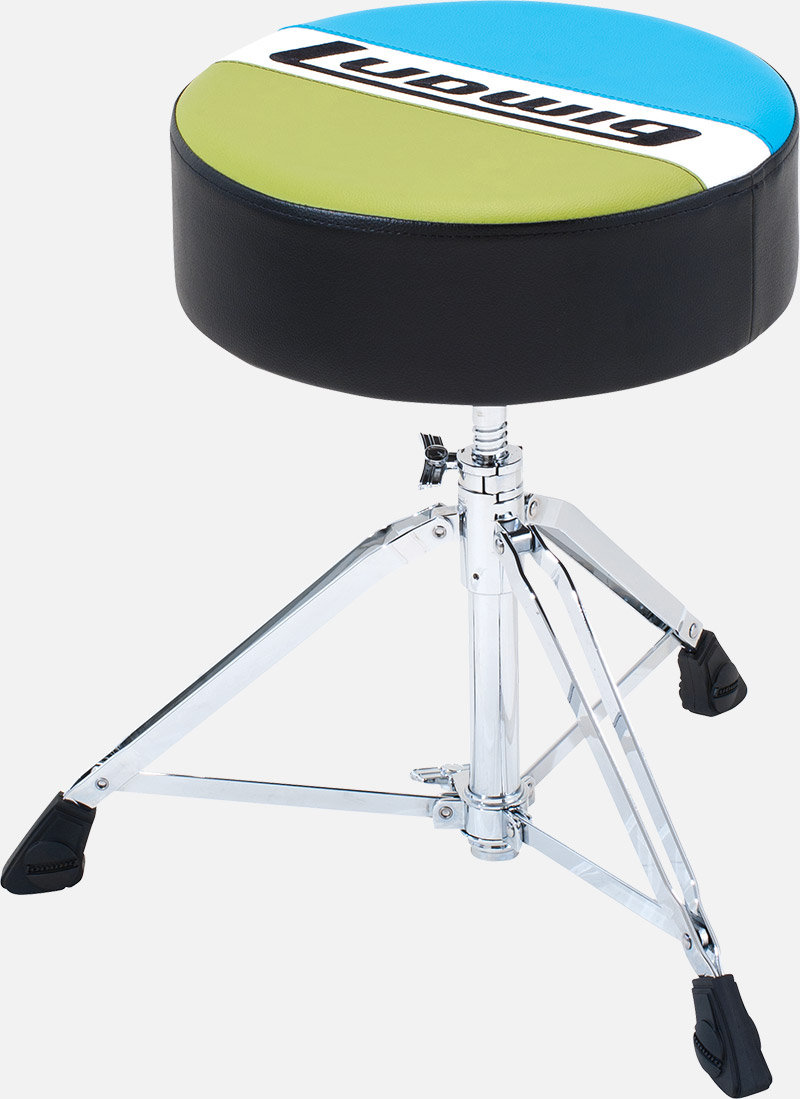 Ludwig ラディック ドラムスローン ラウンドタイプシート タイプ ドラム用 イス LAC49TH アトラスクラシックシリーズ 丸型シート
