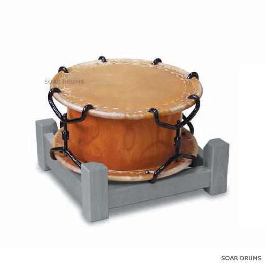 金締太鼓 1.1尺金締 PLAY WOOD K-11F 和太鼓