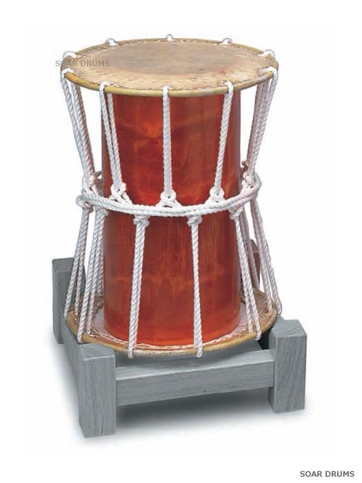 大拍子太鼓 1.0尺 木胴 PLAY WOOD N-10W 和太鼓