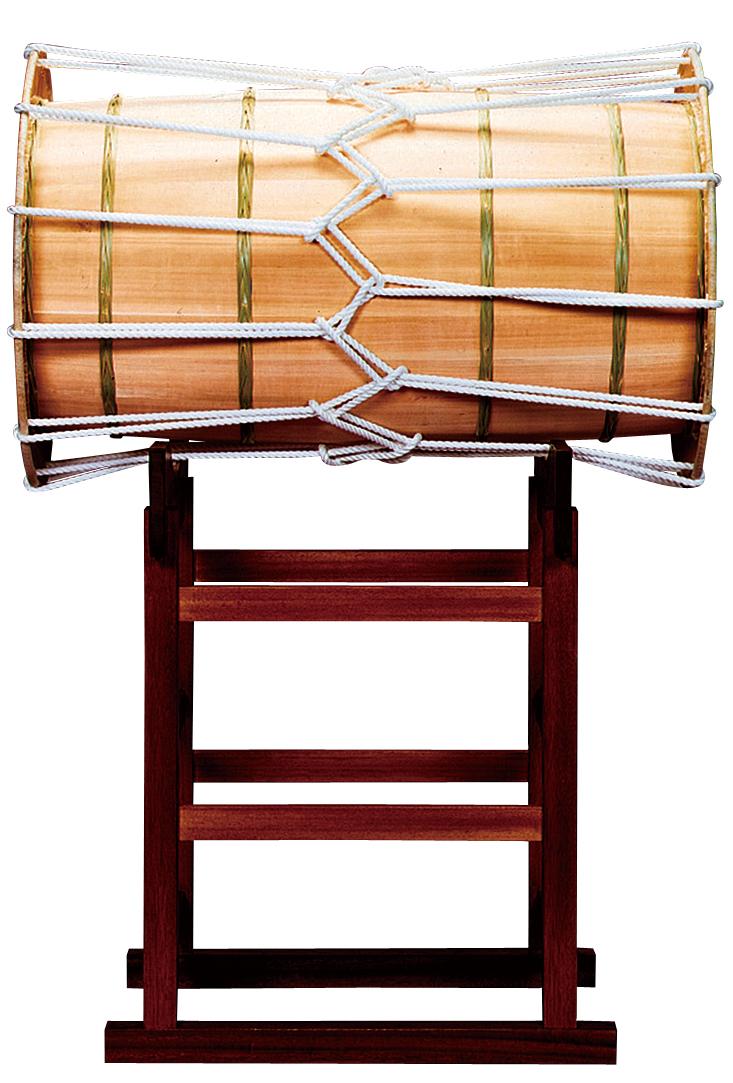 1 척 7 촌 길 흉상 드럼 용/평행 대 Wadaiko Heikou 일본 북 독립 다리 NHP-17