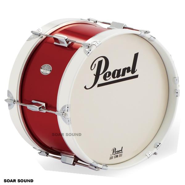 Pearl パール マーチングバスドラム 14x8インチ(35x20cm)MJ-214B MJシリーズ 大太鼓 幼児用 園児用 子供用 キッズ用