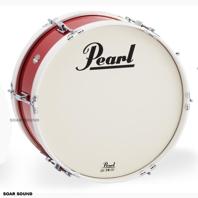 Pearl パール マーチングバスドラム 18x8インチ46x20cm)MJ-218B MJシリーズ 大太鼓 幼児用 園児用 子供用 キッズ用