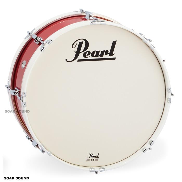 Pearl パール マーチングバスドラム 20x8インチ51x20cm)MJ-220B MJシリーズ 大太鼓 幼児用 園児用 子供用 キッズ用