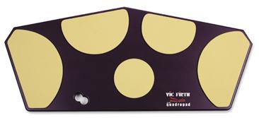 VIC FIRTH トレーニングパッド クワドロパッド(S) VIC-HHPQS マーチングドラム用 マーチングタム用 プラックティスパッド 練習台