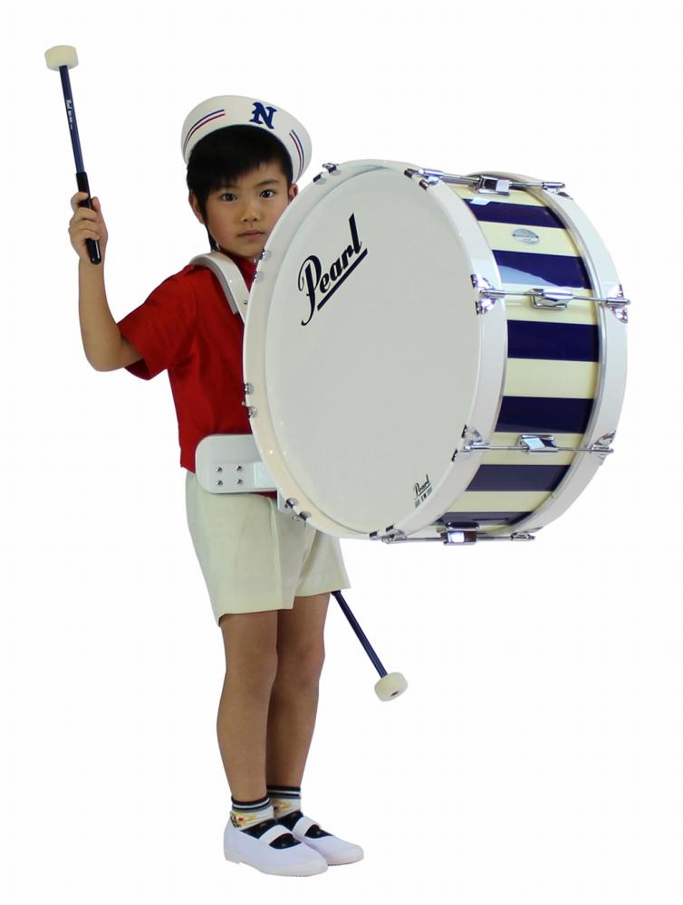 【受注製作】 Pearl パール マーチングバスドラム 14x8インチ(35x20cm) MJ-214BA MJ Series Artisan II 大太鼓 幼児用 園児用 子供用 キッズ用