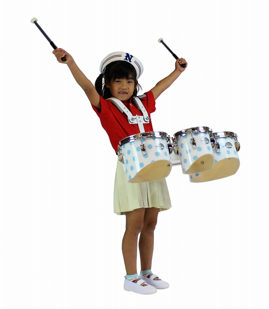 【受注製作】 Pearl パール マーチングタム(専用キャリングホルダー付属)MJ-306TA MJ Series Artisan II マーチングドラム 幼児用 園児用 子供用 キッズ用 トリオセット