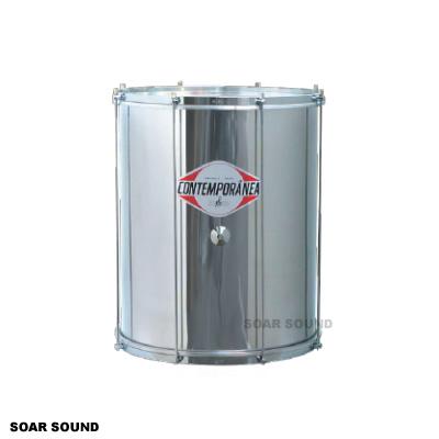 コンテンポラネア スルド アルミ胴 直径 22インチ x 高さ 55cm CO-SUAL2255 サンバ 打楽器 太鼓 ドラム サンバ用 メタルシェル