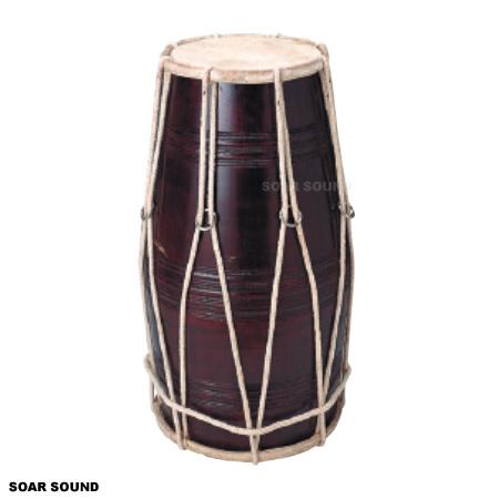 【受注後お取り寄せ】SOUND KING ドラク インド 民謡 打楽器 民族楽器 BG-246 両面 太鼓 ドラム