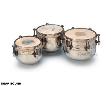 【受注後お取り寄せ】SOUND KING ドゥッギタラング インド 打楽器 民族楽器 BG-150 真鍮製 太鼓 ドラム